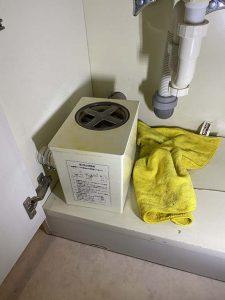 大東市 洗濯排水が破れてる?? 洗濯チャンバー水漏れ