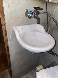 大阪市 西区 手洗い器取り付け