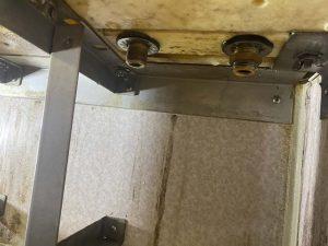 枚方市 お風呂の蛇口交換 カウンター水栓 カウンター穴あけ加工
