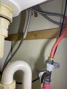 大阪市 西区 Panasonic洗面蛇口 シャワーホース水漏れ ホース交換