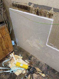 東大阪市 床に水が溢れてくる? 給水破損 水道管破裂