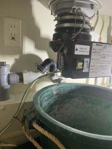茨木市 ディスポーザー撤去 KD132 排水栓取り付け