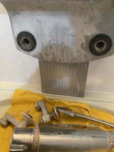 豊中市 浴室蛇口故障 蛇口交換 KVK
