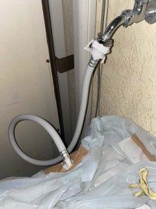 京都市伏見区 洗濯蛇口水漏れ 洗濯ホース 洗濯カプラー