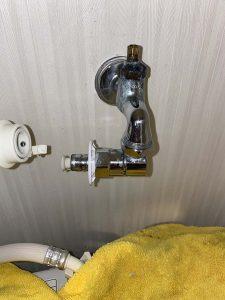 高槻市 洗濯蛇口交換 スピンドル水漏れ パッキン水漏れ