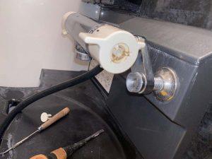 茨木市 お風呂の蛇口が止まらない KVK KF800 切替弁交換