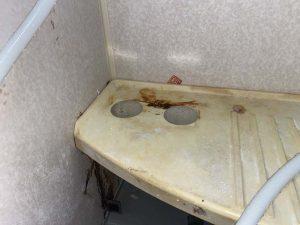 門真市 風呂蛇口水漏れ 蛇口交換 台付き蛇口