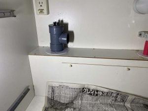 大阪市 安永ディスポーザーの撤去 排水管切替 排水栓