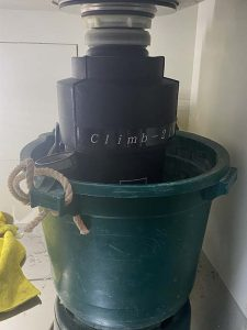 西宮市 ディスポーザー撤去 海外製 排水管切り替え