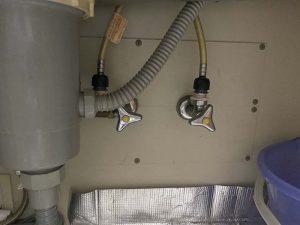 守口市 台所蛇口水漏れ 蛇口交換 ワンホール シングルレバー