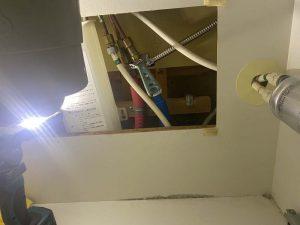 大阪市 台所蛇口水漏れ ハンドシャワータイプ シャワーホース水漏れ
