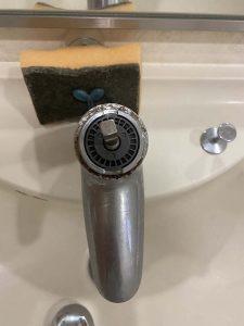 枚方市 洗面蛇口水漏れ カートリッジ交換 TOTO