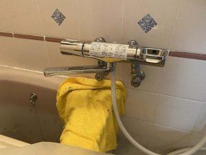 寝屋川市 お風呂の蛇口から水が出ない 蛇口交換 アダプター取り付け