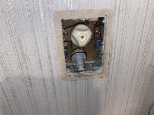 大阪市 TBC タブチ 洗濯コンセント水漏れ 水漏れ修理