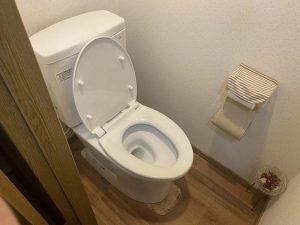西宮市 トイレタンク故障 TOTO リモデルトイレ取り付け 便器交換