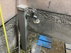 堺市 外の蛇口水漏れ 水栓柱 散水栓 蛇口交換 万能ホーム水栓
