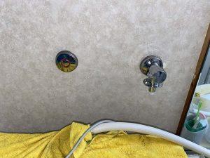 寝屋川市 洗濯蛇口水漏れ 混合栓 一部止水処理 蛇口交換