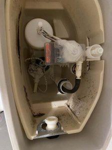 枚方市 トイレタンク故障 レバーが効かない SHタンクレバー マルチレバー取り付け