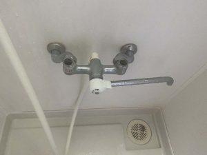 松原市 お風呂の蛇口がしっかり止まらない ハンドルが空回り 2ハンドル 混合栓