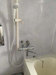 宝塚市 お風呂の蛇口水漏れ 水漏れ修理 蛇口交換 サーモスタット