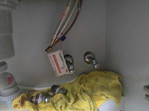 高槻市 浄水器付き蛇口 ビルトイン浄水器専用蛇口 蛇口交換 浄水器撤去