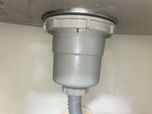 寝屋川市 台所排水水漏れ 排水栓パッキン 排水の所から水が垂れる