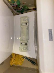 大阪市 トイレ水漏れ 床に水漏れしている ウォシュレット水漏れ