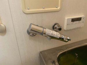 四条畷市 壁付蛇口交換 お風呂の蛇口交換 サーモスタット式蛇口 蛇口水漏れ