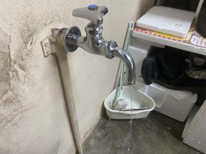大阪市 蛇口交換 単水栓 ホーム水栓 水栓柱