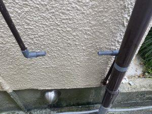 東大阪市 蛇口水が止まらない 給水管破損 止水栓取り付け 塩ビ管接続